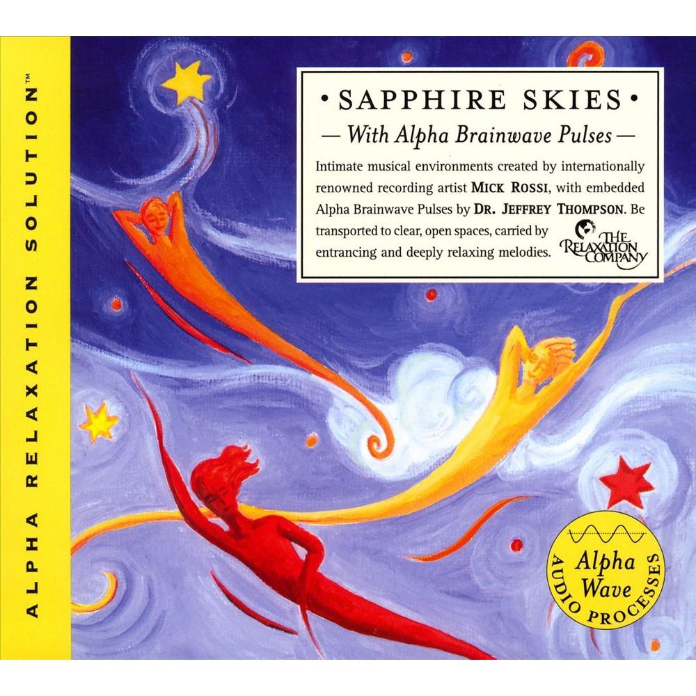 Jeffrey thompson - Sapphire skies (Alpha relaxation solu (CD)