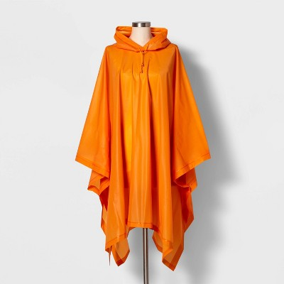 Cirra by ShedRain Women's Poncho Rainsuit - Orange