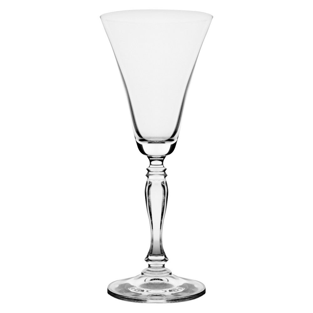 Image of 10 Strawberry Street Diana 10oz 6pk Water Goblets, Clear
