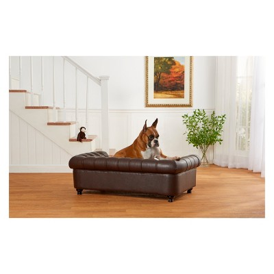 Enchanted Home Pet Wentworth Dog Sofa   Brown : Target