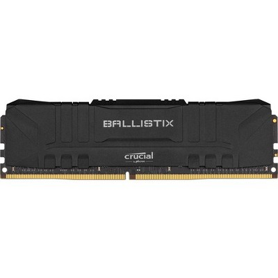 Crucial Ballistix Gaming Memory - For Computer - 32 GB (2 x 16 GB) - DDR4-3000/PC4-24000 DDR4 SDRAM - CL15 - 1.35 V - Non-ECC - Unbuffered - 288-pin