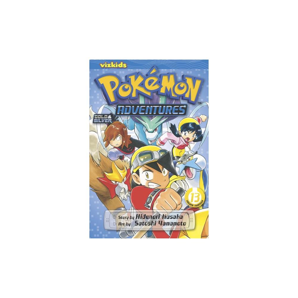 Pokemon Adventures 13 - (Pokemon Adventures) by Hidenori Kusaka (Paperback)