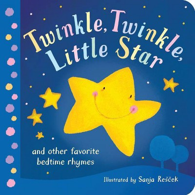 Twinkle, Twinkle, Little Star - (Board_book)