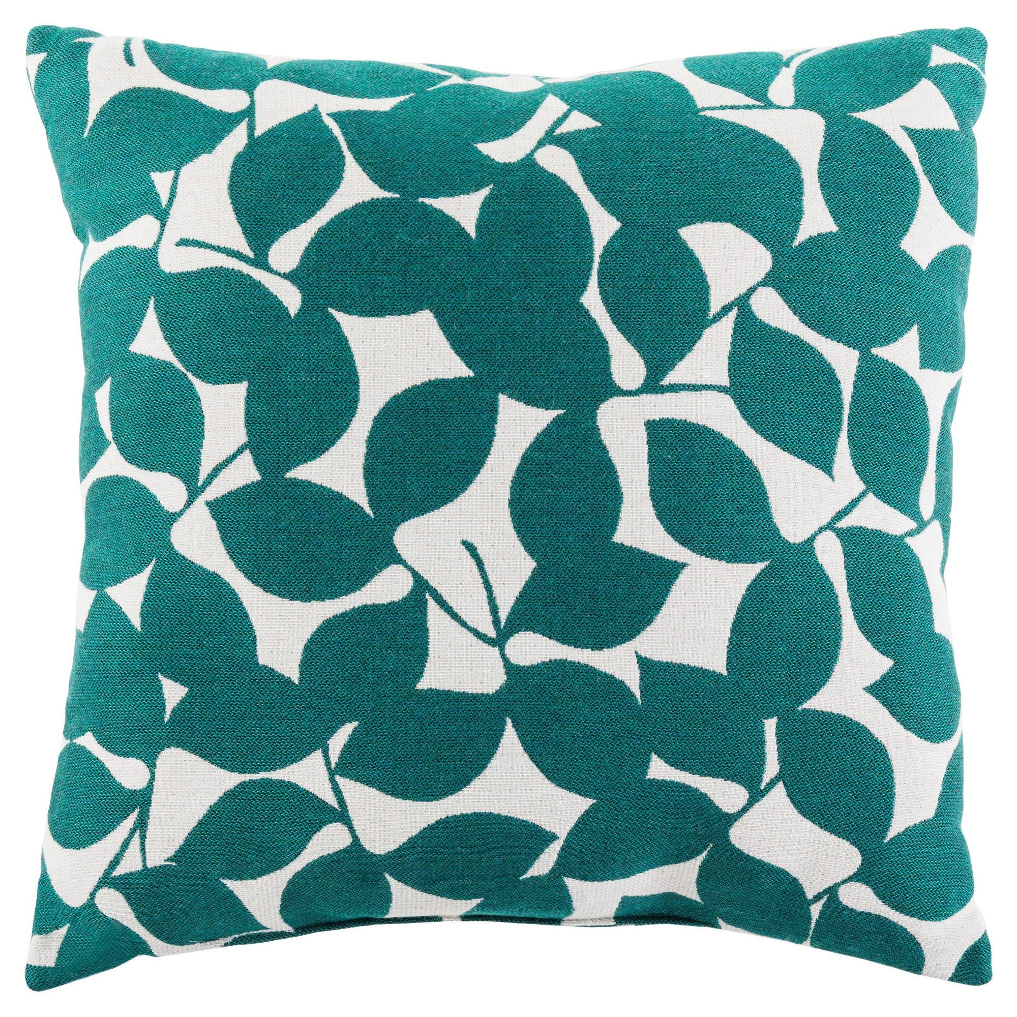 Surya Redding Outdoor Pillow - Teal, Green