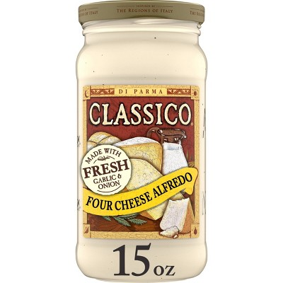 Classico Four Cheese Alfredo Pasta Sauce - 15oz