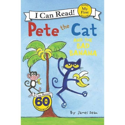 Pete the Cat and the Bad Banana (Paperback) by James Dean