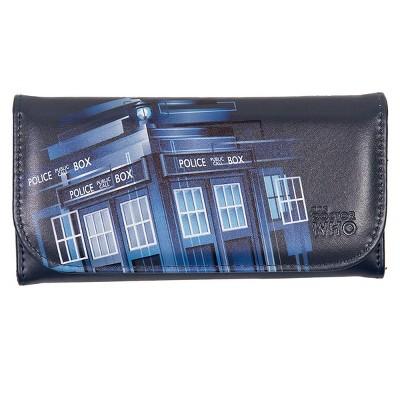 Seven20 Doctor Who Embossed Women's Wallet: Retro TARDIS