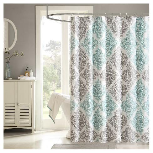 Arbor Microfiber Printed Shower Curtain Target