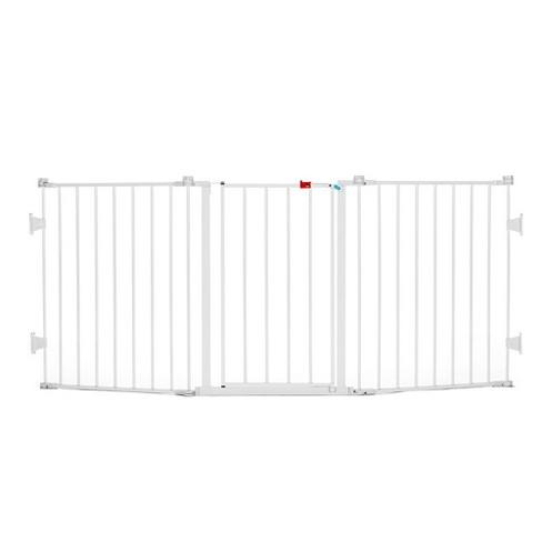 Extra Wide Baby Safety Gate Door Walk  Child Toddler Thru Fence Pet Dog Meta US