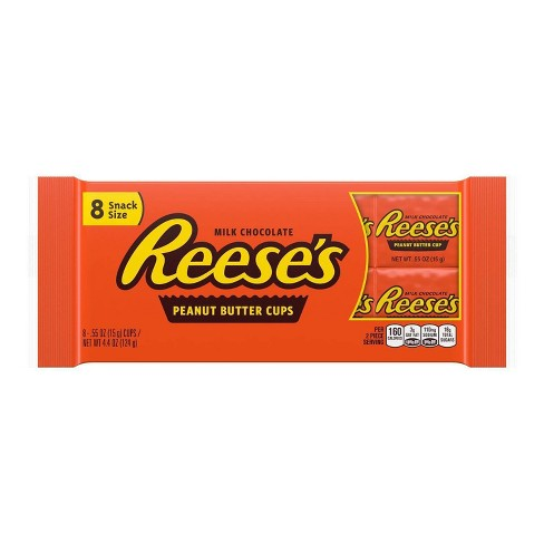 Reese's Peanut Butter Snack Size Cups - 8ct - image 1 of 4