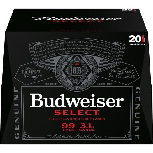 Budweiser Select Beer - 20pk/12 fl oz Bottles - image 1 of 3