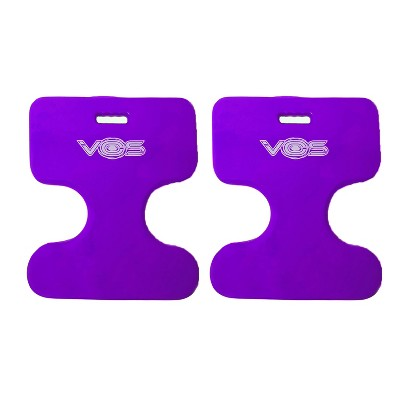 Vos Oasis Water Saddle Swimming Pool Float Lounge Seat for Adults & Kids, Made with UV Resistant Foam for Floating, Deep Lavender (2 Pack)