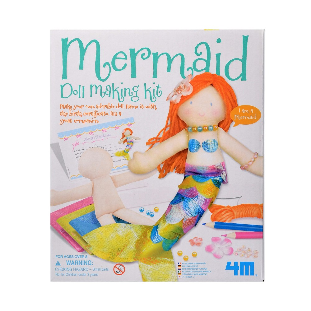 Image of Mermaid Doll Making Kit - 4M