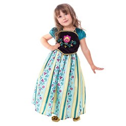 Little Adventures Girls' Scandinavian Princess Coronation Dress - M, Size: Medium