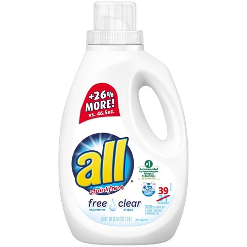 All Free Clear Liquid Laundry Detergent - 59 fl oz - image 1 of 3