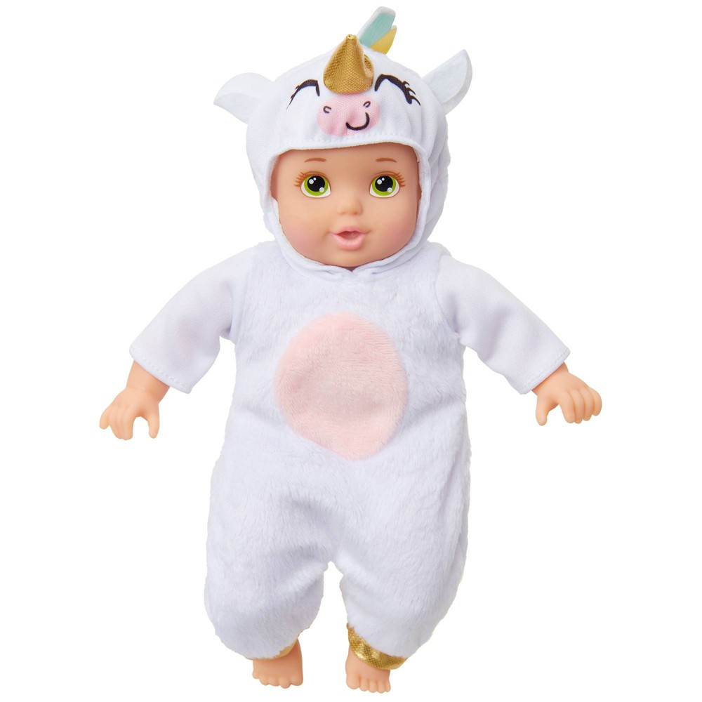 Perfectly Cute My Lil 39 Deluxe Baby 8 34 Baby Doll White Unicorn