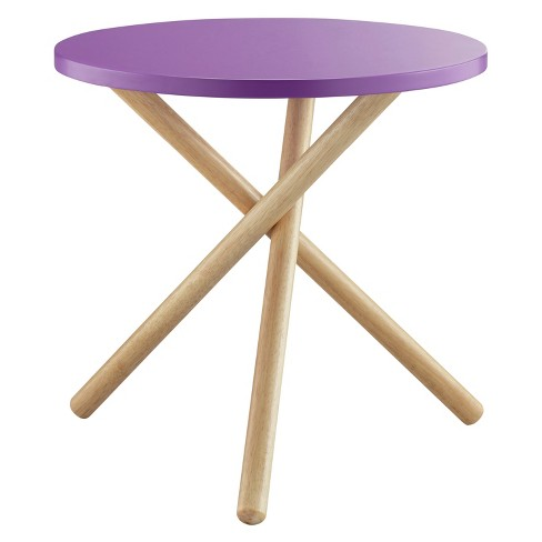 End Table Purple - image 1 of 6