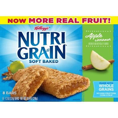 Breakfast & Cereal Bars: Nutri-Grain Soft Baked Bars