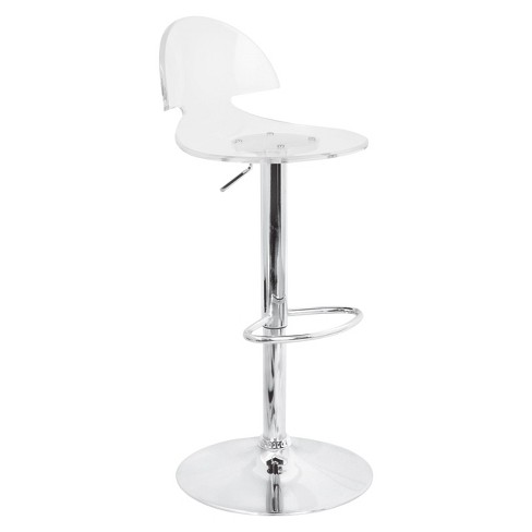 "Venti 32"" Barstool Acrylic/Clear - Lumisource - image 1 of 2"