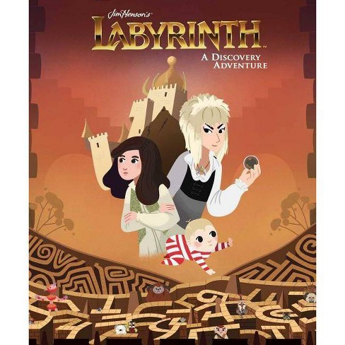 Jim Henson's Labyrinth: A Discovery Adventure - (Hardcover) - image 1 of 1