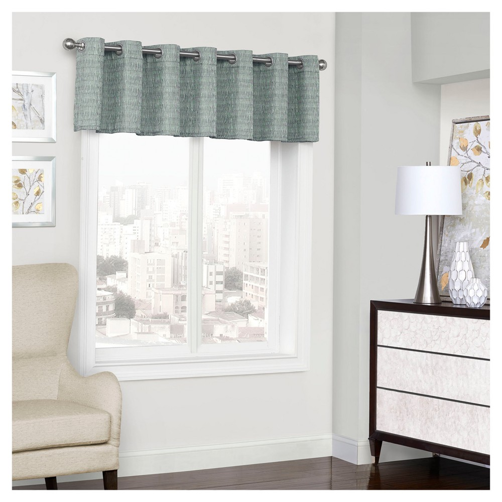 Trevi Thermalined Window Valance Blue (52
