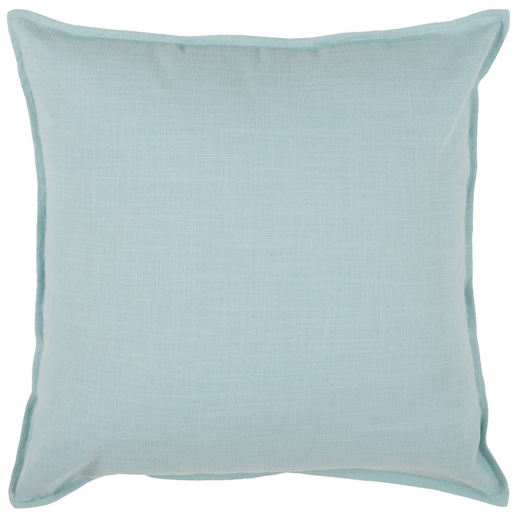 20 34 X20 34 Oversize Solid Square Throw Pillow Blue Rizzy Home