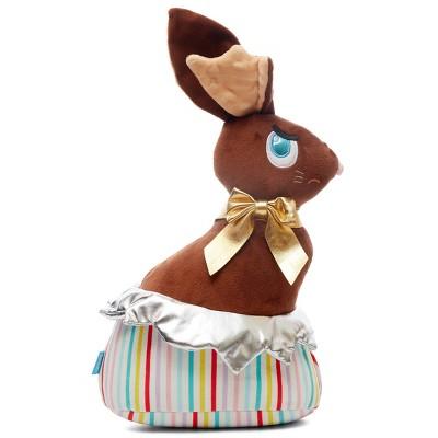 BARK Chocolate Bunny Dog Toy - Lil' Bunny Chew Chew