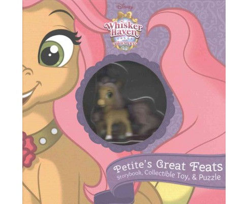 Whisker Haven Tales With the Palace Pets : Petite's Great Feats - Storybook Plus Collectible Toy - image 1 of 1