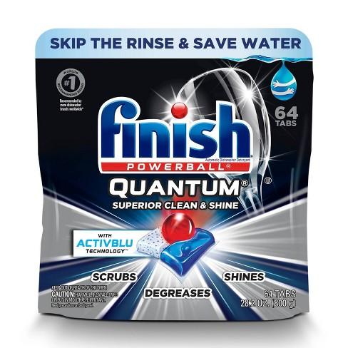 Finish Quantum Ultimate Clean & Shine Dishwasher Detergent Tablets - image 1 of 4