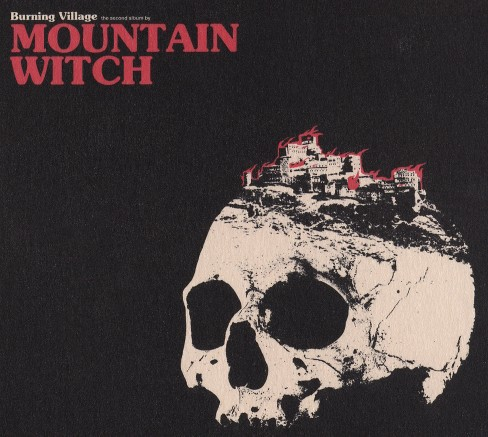 Mountain witch - Burning village (CD) - image 1 of 1