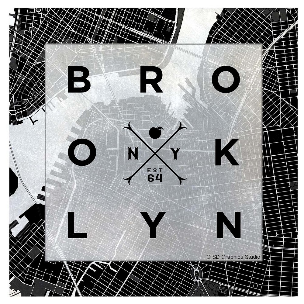Image of Thirstystone Coasters Set of 4 - Brooklyn Square, Multi-Colored