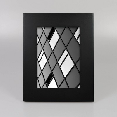 "5"" x 7"" Wide Single Picture Frame Black - Made By Design™"
