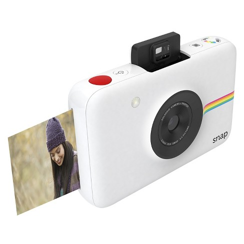 Polaroid Snap Digital Instant Camera - White   Target 72b8f208a1