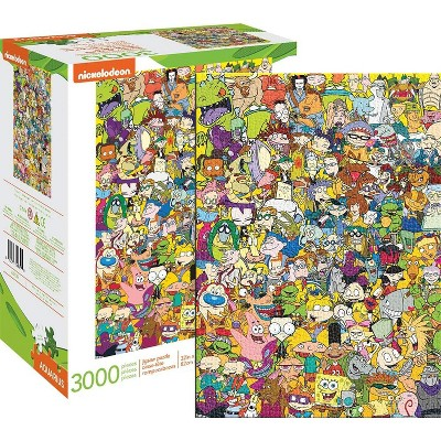 NMR Distribution Nickelodeon Cast 3000 Piece Jigsaw Puzzle