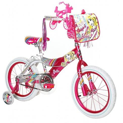 "Dynacraft  16"" Kids' Barbie Bike - image 1 of 3"