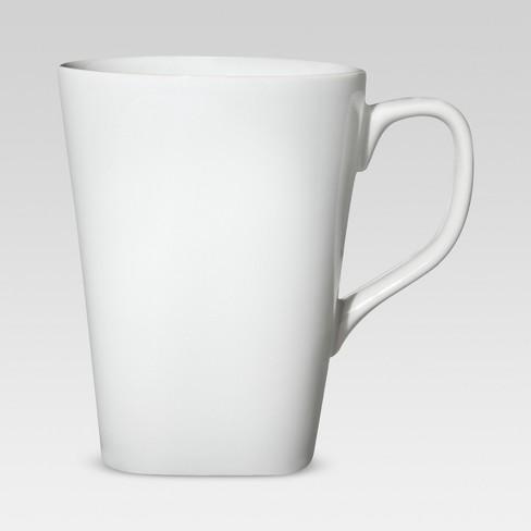 Square Coffee Mug 13oz Porcelain Threshold