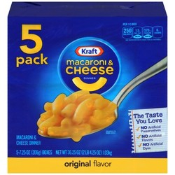 Kraft Macaroni & Cheese Original 5pk