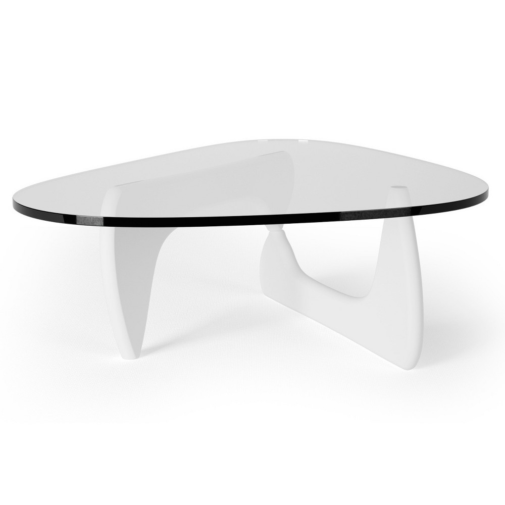 Tokyo Modern Artisan Inspired Coffee Table - White - Aeon