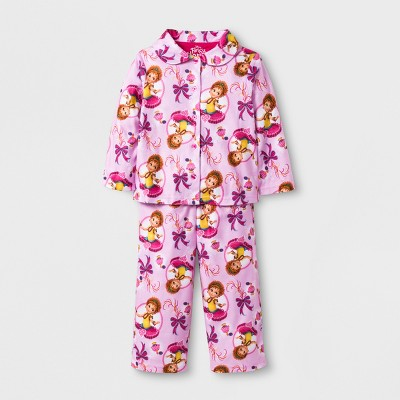 441b1603f Toddler Girls  Fancy Nancy 2pc Coat Pajama Set -...   Target
