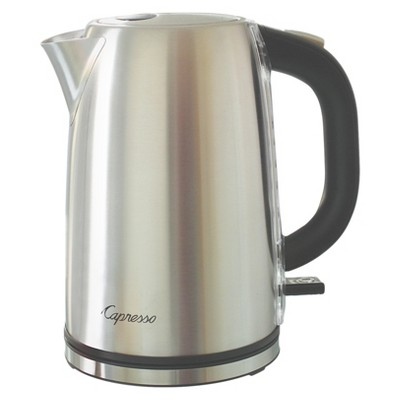 Capresso H2O Steel Electric Water Kettle Stainless Steel 277.05