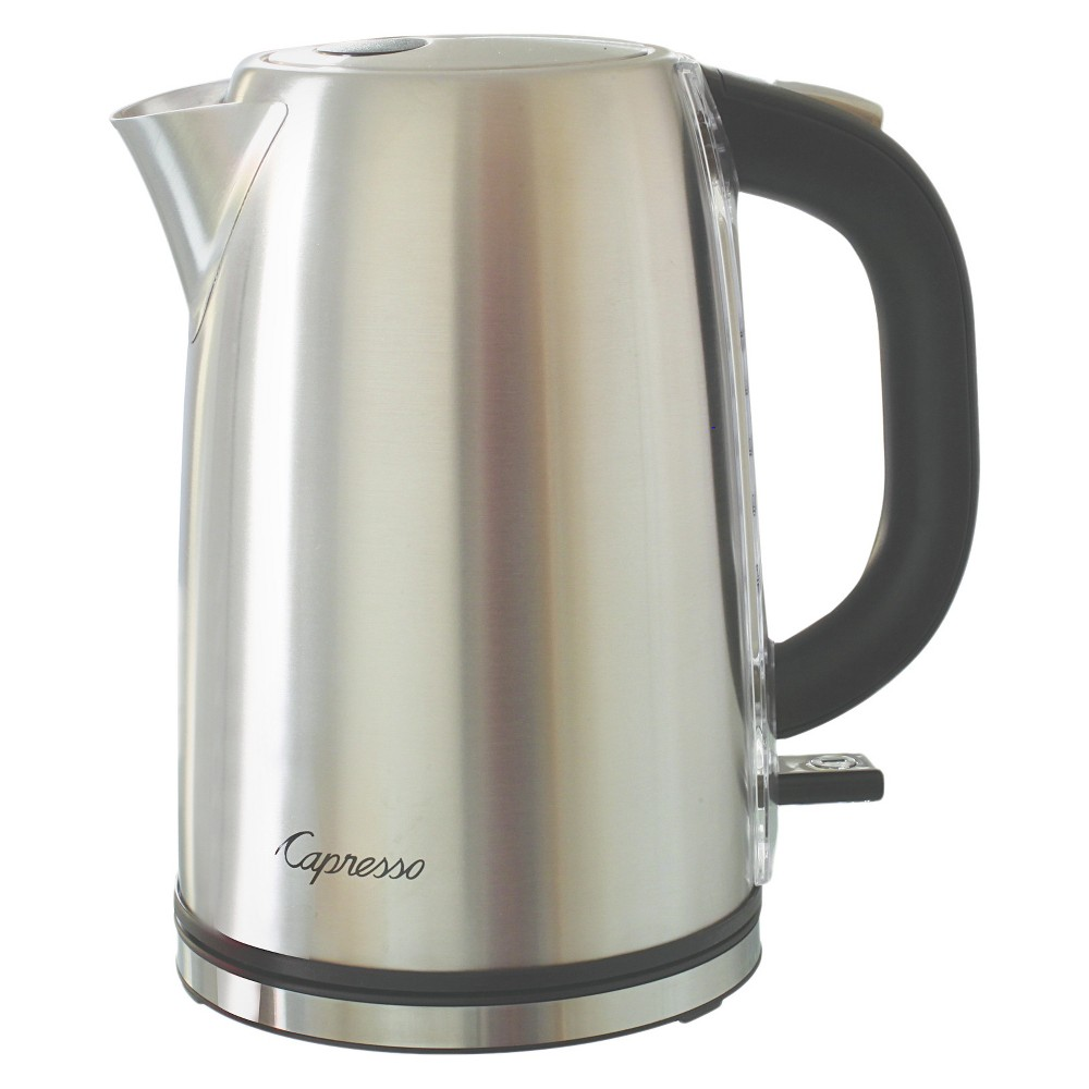 Capresso H2O Steel Electric Water Kettle Stainless Steel 277.05, Silver 52112914
