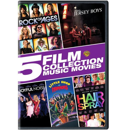 5 Film Collection:Music Movies Collec (DVD) - image 1 of 1