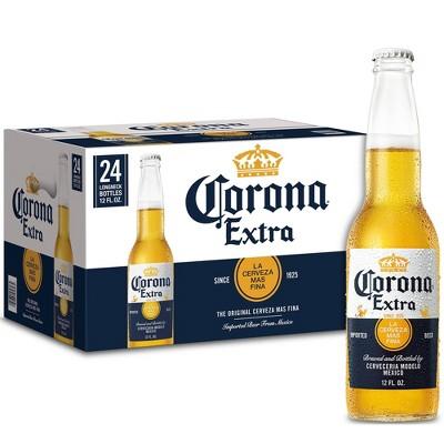 Corona Extra Lager Beer - 24pk/12 fl oz Bottles