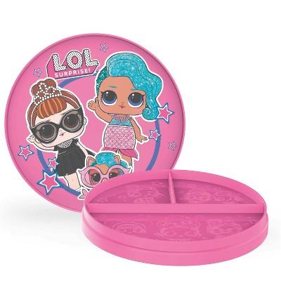L.O.L. Surprise! 2pc Plastic Flip-It Plates - Zak Designs