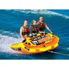 World of Watersports 18-1130 Wild Wing 2 Rider Inflatable Towable Tube, Red - image 4 of 4