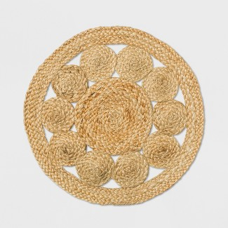 Medallion Woven Charger - Threshold™
