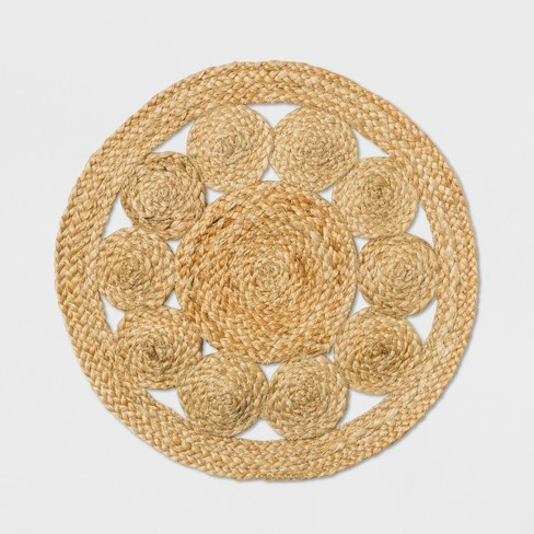 Medallion Woven Charger - Threshold™ - image 1 of 1