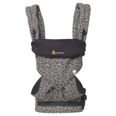 Ergobaby 360 All Carry Positions Ergonomic Keith Haring Baby Carrier - Black