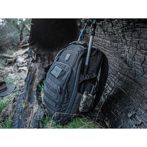 Cannae Pro Gear 500D Nylon Size Medium 21 Liter Legion Day Pack Backpack, Black - image 1 of 5