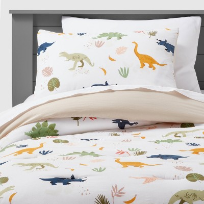 Dinosaur Cotton Comforter Set - Pillowfort™